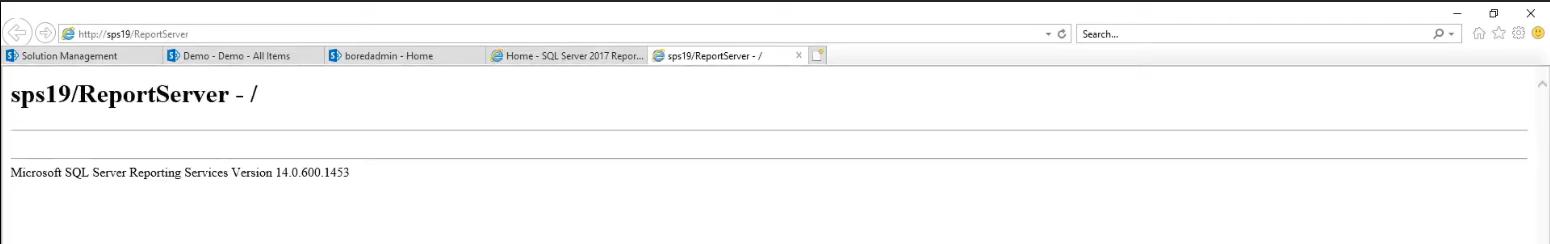 ssrs web service